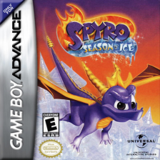 Spyro - Season of Ice Nintendo Game Boy Advance cover artwork