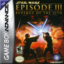 Star Wars - Episode III - Revenge of the Sith Nintendo Game Boy Advance cover artwork