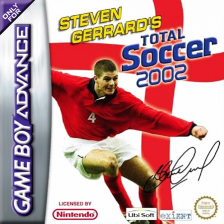 Steven Gerrard's Total Soccer 2002 Nintendo Game Boy Advance cover artwork