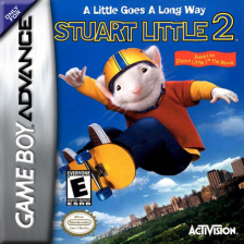Stuart Little 2 Nintendo Game Boy Advance cover artwork