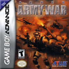 Super Army War Nintendo Game Boy Advance cover artwork