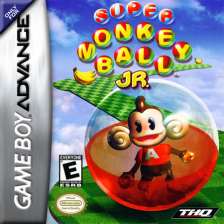 Super Monkey Ball Jr. Nintendo Game Boy Advance cover artwork