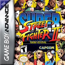 Super Street Fighter II Turbo - Revival Nintendo Game Boy Advance cover artwork
