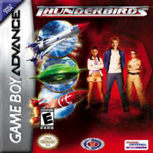 Thunderbirds Nintendo Game Boy Advance cover artwork