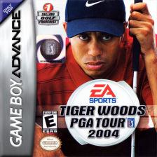 Tiger Woods PGA Tour 2004 Nintendo Game Boy Advance cover artwork