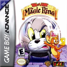Tom and Jerry - The Magic Ring Nintendo Game Boy Advance cover artwork