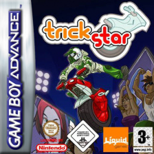 Trick Star Nintendo Game Boy Advance cover artwork