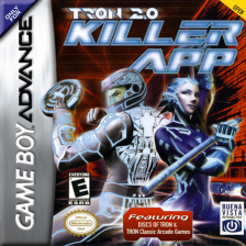 Tron 2.0 - Killer App Nintendo Game Boy Advance cover artwork