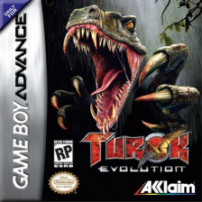 Turok Evolution Nintendo Game Boy Advance cover artwork