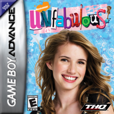 Unfabulous Nintendo Game Boy Advance cover artwork