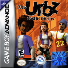 Urbz, The - Sims in the City Nintendo Game Boy Advance cover artwork