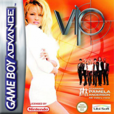 V.I.P. Nintendo Game Boy Advance cover artwork