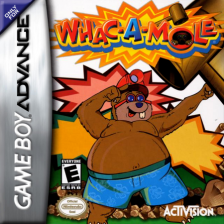 Whac-A-Mole Nintendo Game Boy Advance cover artwork