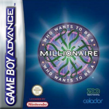 Who Wants to Be a Millionaire Nintendo Game Boy Advance cover artwork