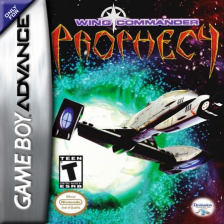 Wing Commander - Prophecy Nintendo Game Boy Advance cover artwork