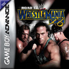 WWE - Road to WrestleMania X8 Nintendo Game Boy Advance cover artwork