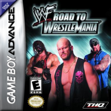 WWF - Road to WrestleMania Nintendo Game Boy Advance cover artwork