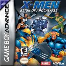 X-Men - Reign of Apocalypse Nintendo Game Boy Advance cover artwork