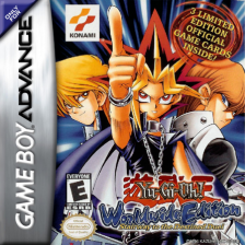 Yu-Gi-Oh! - Worldwide Edition - Stairway to the Destined Duel Nintendo Game Boy Advance cover artwork