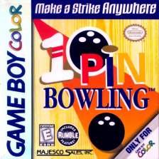 10-Pin Bowling Nintendo Game Boy Color cover artwork