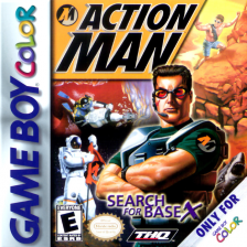 Action Man - Search for Base X Nintendo Game Boy Color cover artwork