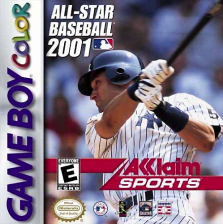 All-Star Baseball 2001 Nintendo Game Boy Color cover artwork