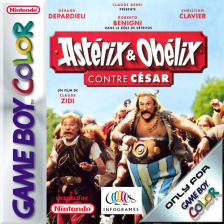 Asterix & Obelix vs Caesar Nintendo Game Boy Color cover artwork