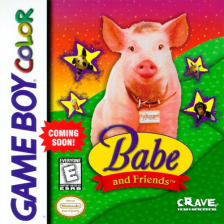 Babe and Friends Nintendo Game Boy Color cover artwork