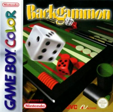 Backgammon Nintendo Game Boy Color cover artwork