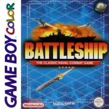 Battleship Nintendo Game Boy Color cover artwork