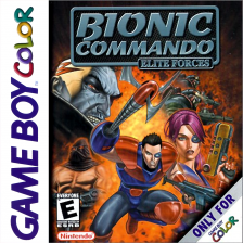 Bionic Commando - Elite Forces Nintendo Game Boy Color cover artwork