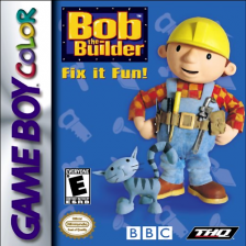 Bob the Builder - Fix it Fun! Nintendo Game Boy Color cover artwork