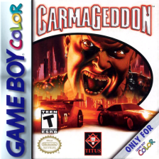 Carmageddon - Carpocalypse Now Nintendo Game Boy Color cover artwork