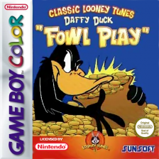 Daffy Duck - Fowl Play Nintendo Game Boy Color cover artwork