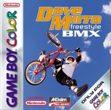 Dave Mirra Freestyle BMX Nintendo Game Boy Color cover artwork