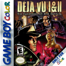 Deja Vu I & II - The Casebooks of Ace Harding Nintendo Game Boy Color cover artwork