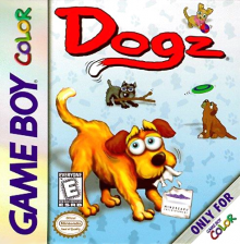 Dogz - Your Virtual Petz Palz Nintendo Game Boy Color cover artwork