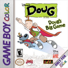 Doug's Big Game Nintendo Game Boy Color cover artwork