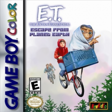 E.T. The Extra Terrestrial - Escape from Planet Earth Nintendo Game Boy Color cover artwork