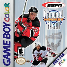 ESPN National Hockey Night Nintendo Game Boy Color cover artwork