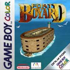Fort Boyard Nintendo Game Boy Color cover artwork