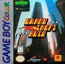 Grand Theft Auto Nintendo Game Boy Color cover artwork