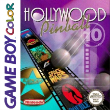 Hollywood Pinball Nintendo Game Boy Color cover artwork