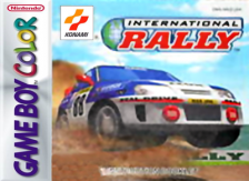 International Rally Nintendo Game Boy Color cover artwork