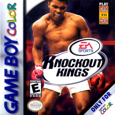 Knockout Kings Nintendo Game Boy Color cover artwork