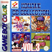 Konami GB Collection Vol.3 Nintendo Game Boy Color cover artwork