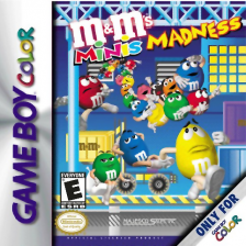 M&M's Minis Madness Nintendo Game Boy Color cover artwork