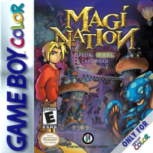 Magi Nation Nintendo Game Boy Color cover artwork