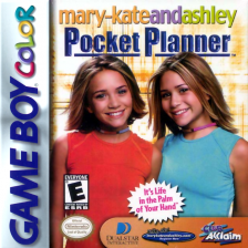 Mary-Kate and Ashley - Pocket Planner Nintendo Game Boy Color cover artwork