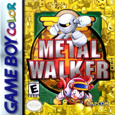 Metal Walker Nintendo Game Boy Color cover artwork